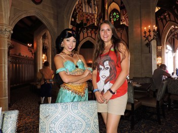 Princess Jasmine at Cinderella's Royal Table #itallstartedwithamouse