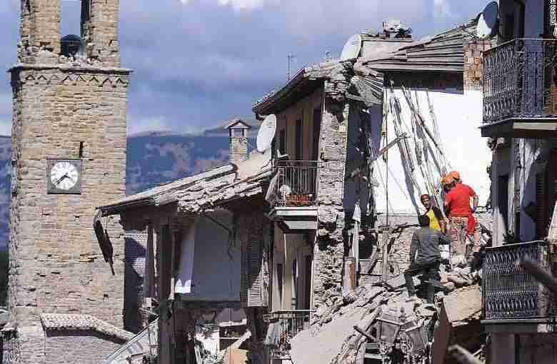 Amatrice and the Earthquake in Central Italy