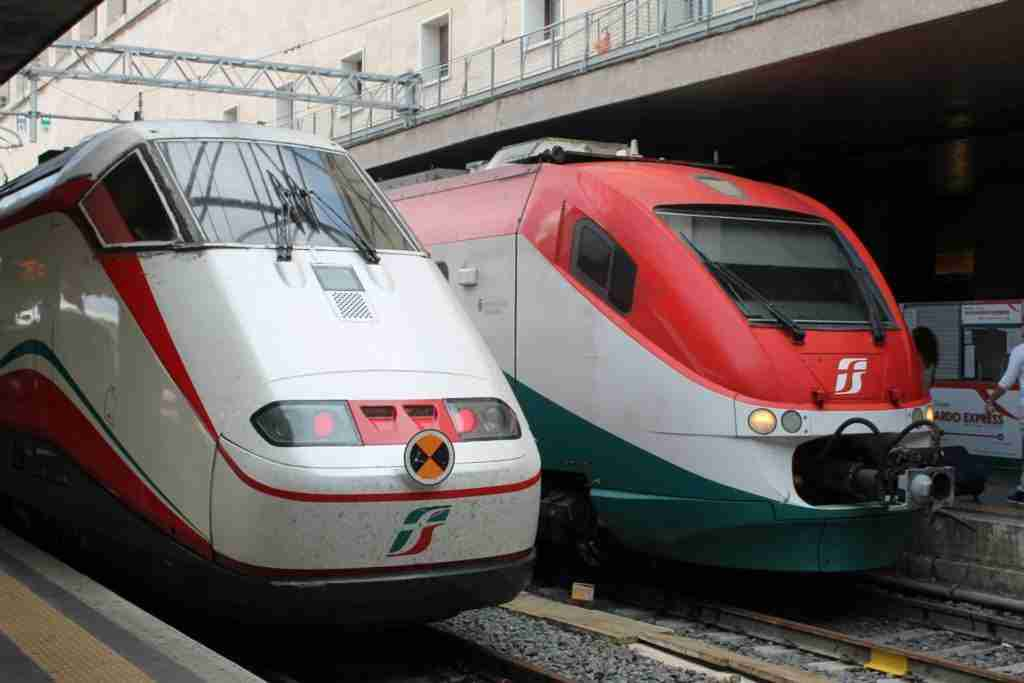 Trains in Italy