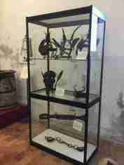 Torture implements in the Fortress of San Leo - masks and chains