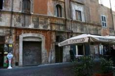 Manilius inscription on Via del Portico d'Ottavia