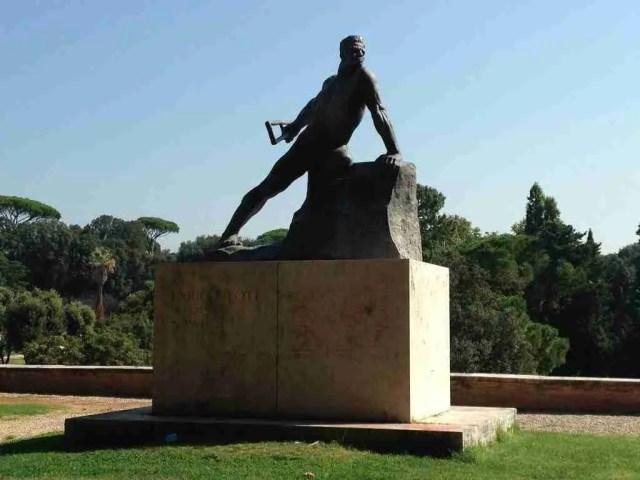Enrico Toti, Italian WWI Hero
