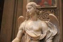 Marble statue in the Duomo of Ferrara