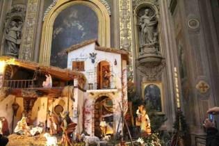 Christmas presepe in the Duomo of Ferrara