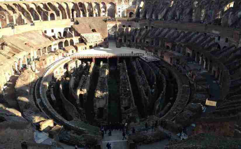 The Colosseum, On High and Down Low