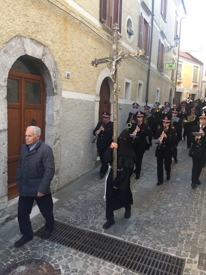 Good Friday Procession of the Dead Christ in Agnone, Molise