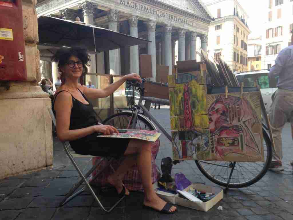Cool Italian Street Art from The Drawing Bike