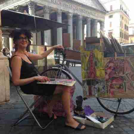 Rachele del Nevo, aka The Drawing Bike