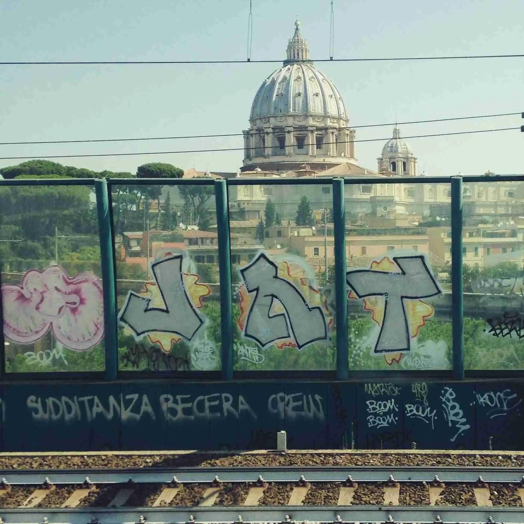 Graffiti St. Peter's