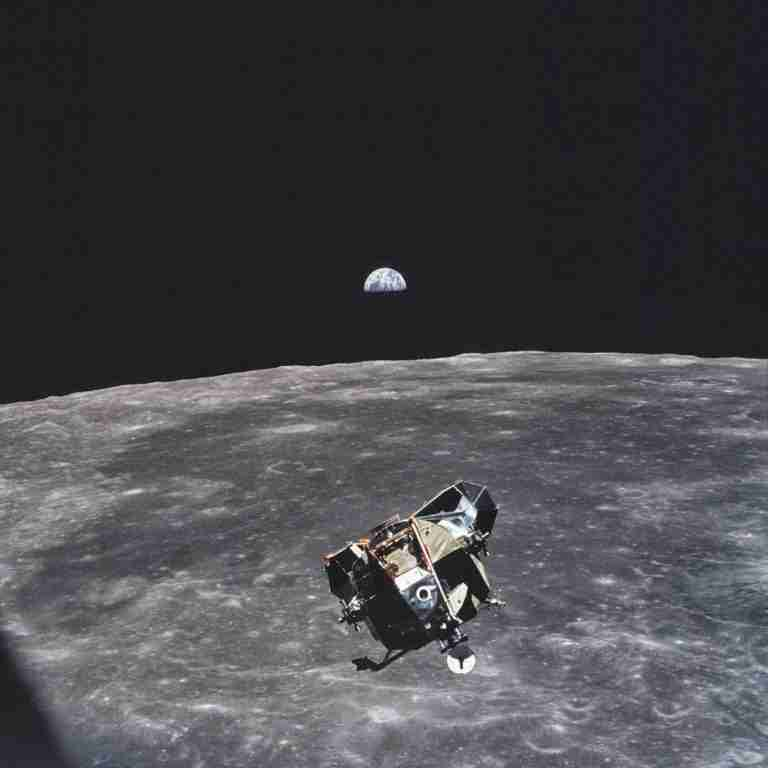 Michael Collins, the astronaut who took this photo, is the only human, alive or dead that isn't in the frame of this picture, 1969