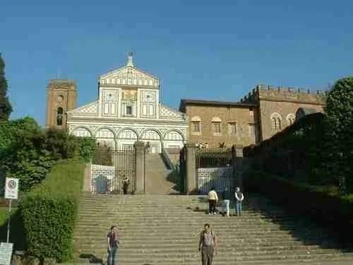 San Miniato al Monte Church Above Florence Tuscany