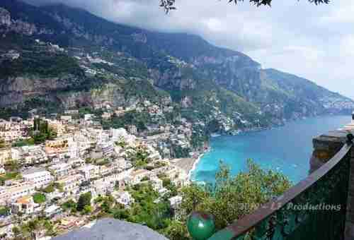 Positano, on the Amalfi Coast