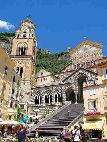 Church of Sant'Andrea in the town of Amalfi