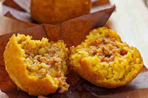 Arancina from Palermo