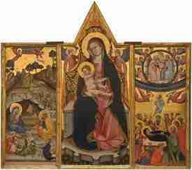 Beffi Triptych from Abruzzo