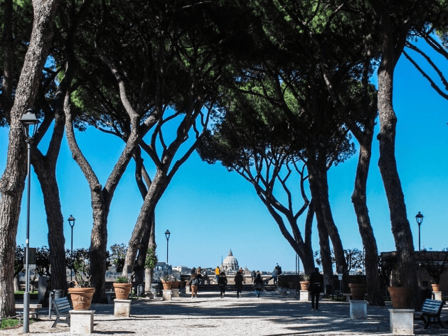 Giardino degli Aranci, Rome