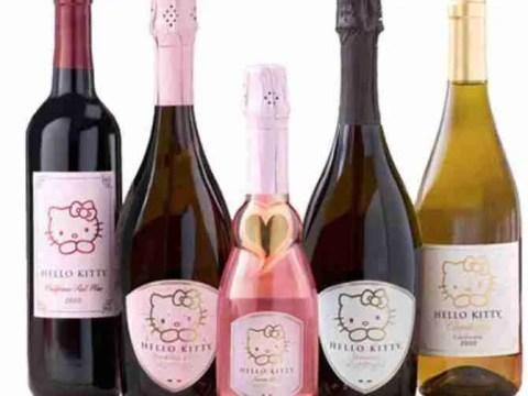 Hello Kitty Wine