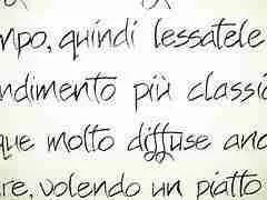 random Italian text