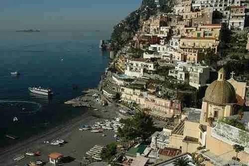 Scenic Drive on the Amalfi Coast