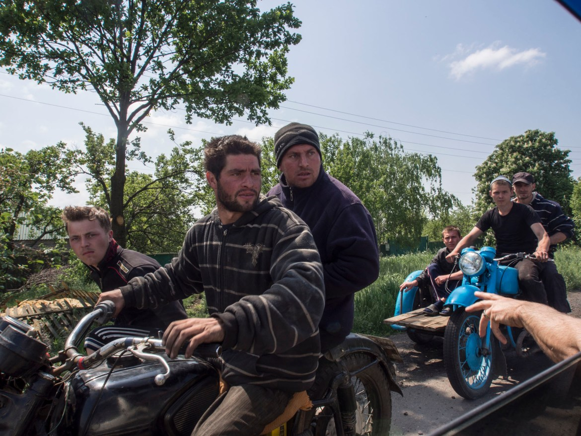 The siege of Sloviansk