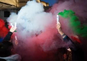 #maiconrenzi vs #maiconmeloni a Venezia