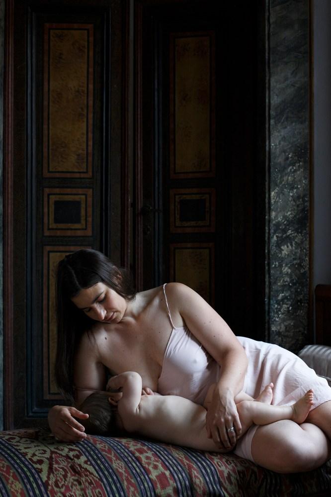 In the room, Francesca Cesari