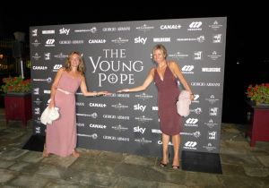 #venezia73 The Young Pope: Il party all'isola di S.Clemente