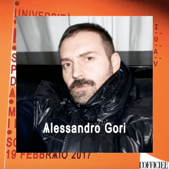fashion media still Alessandro Gori
