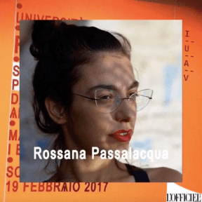 fashion media still Rossana Passalacqua