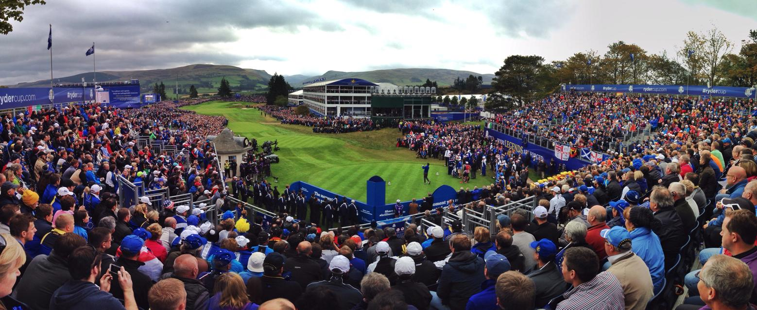 Crowd at the 2014 Ryder Cup