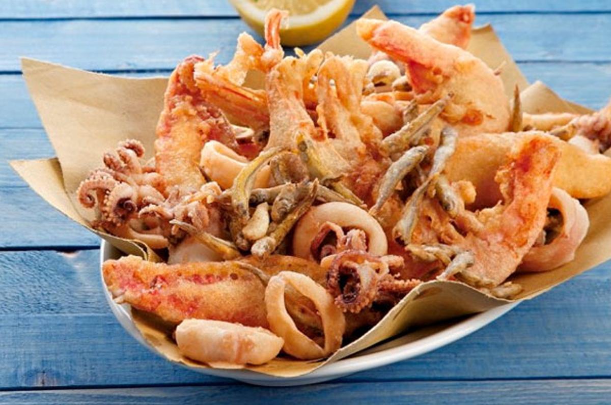 Paranza di pesce cucina italiana e golf italy4golf for Cucina italiana pesce