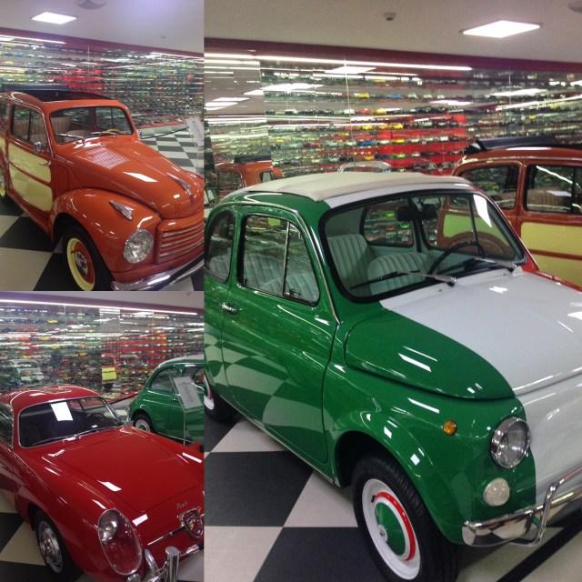 Fiat 500L, Fiat Topolino ve Fiat Double Bubble