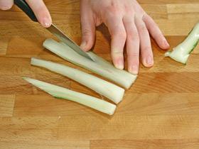 Как чистить и варить черешковый мангольд