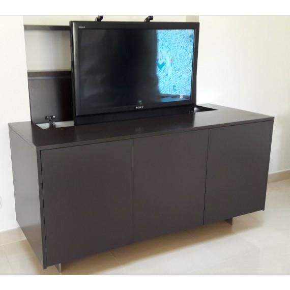 تخزين القلق أرض meuble pour tv escamotable