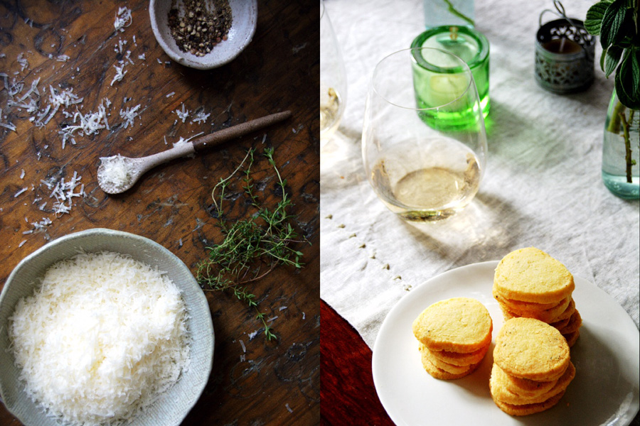 parmesan rounds-ingredients-italy on my mind