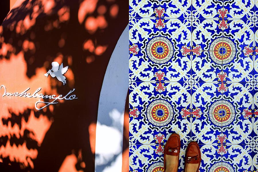 michelangelo-capri-tiles-italy on my mind