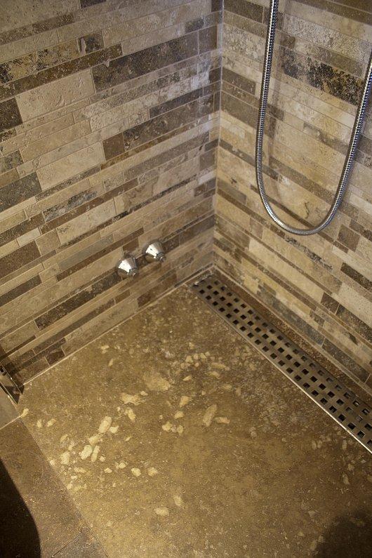 Piatto doccia in Pietra