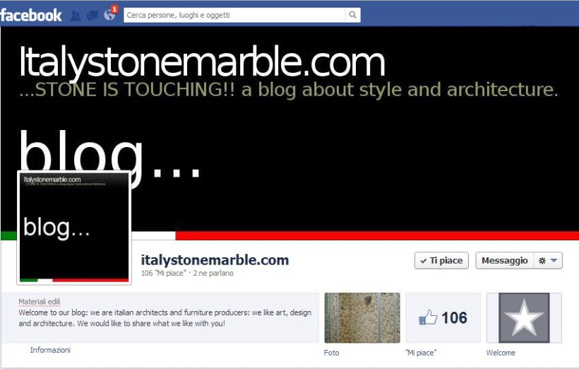 Italystonemarble.com on facebook