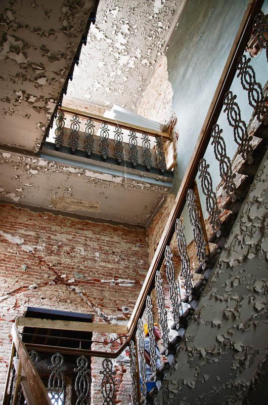 Villa Vittoria, restauro interni