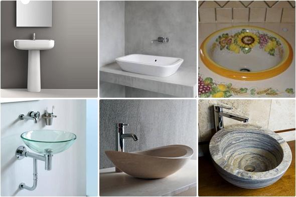 Tipologie dei lavabi da bagno - Lavandini bagno da incasso ...