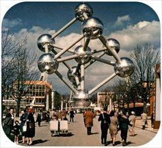 architettura atomium 1958 bruxelles expo expo2015