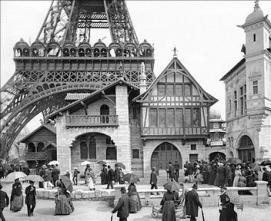 Torre Eiffel Expo 1889 Paris