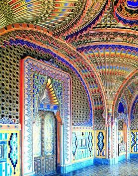 Castelli in Toscana - Decori del salone