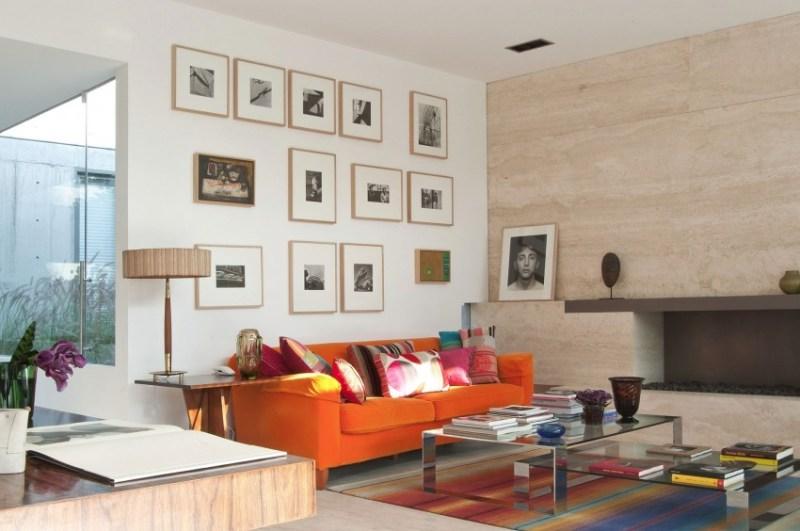 appartamento a Città del Messico con pavimenti e rivestimenti in travertino penthouse polanco