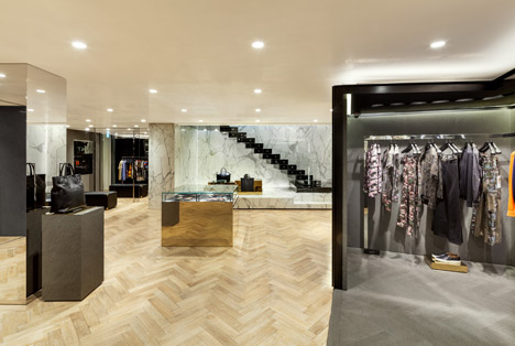 Givenchy-negozio-marmo-flagship-store-marmo