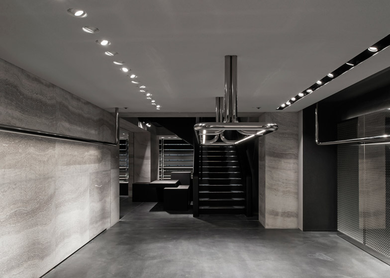 Alexander-Wang-store-by-Vincent-van-Duysen-travertine