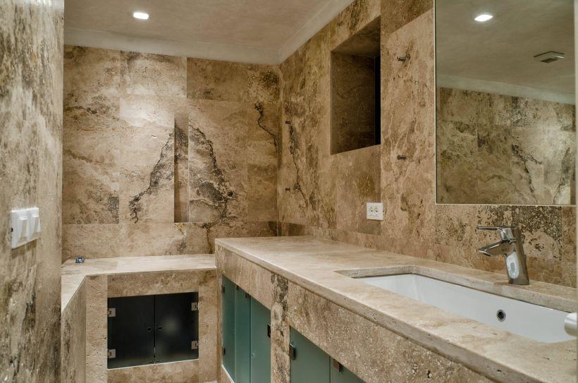 Bagno Villa Waddell Fiesole Firenze - PDR013 Terra Chiara