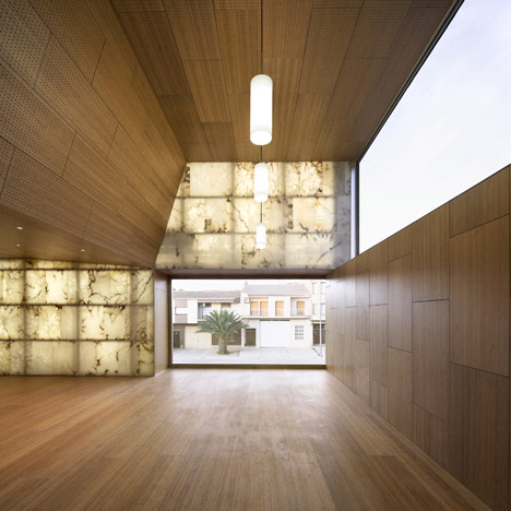 Il progetto in alabastro firmato da Magén Arquitectos