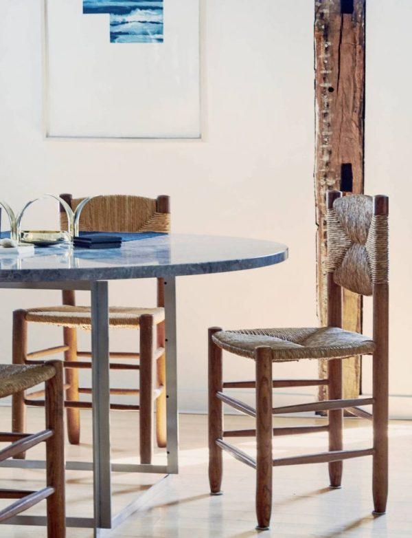tavolino marmo arredo interni decorazione hamptons