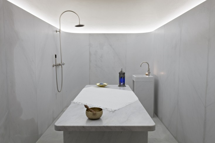 hammam spa centro benessere cafe royal londra david chipperfield marmo